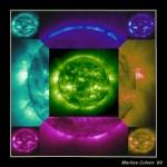 Solar Flares Graphic