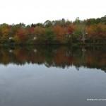 1024x768 Fall at the Lake Wallpaper